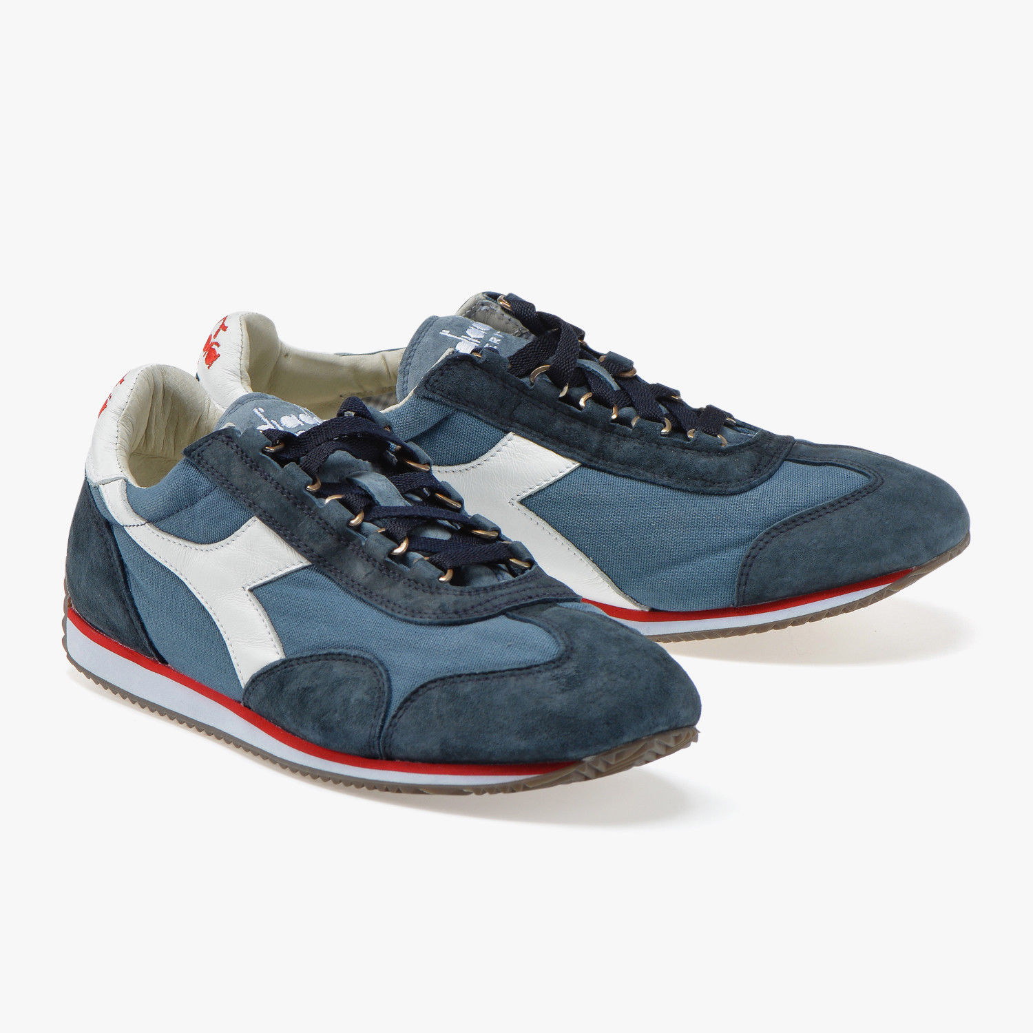 hot sale online 8d28f 95ad3 Sneakers scarpe DIADORA HERITAGE Equipe Stone Wash 12 China Blue/Blue Denim  2018
