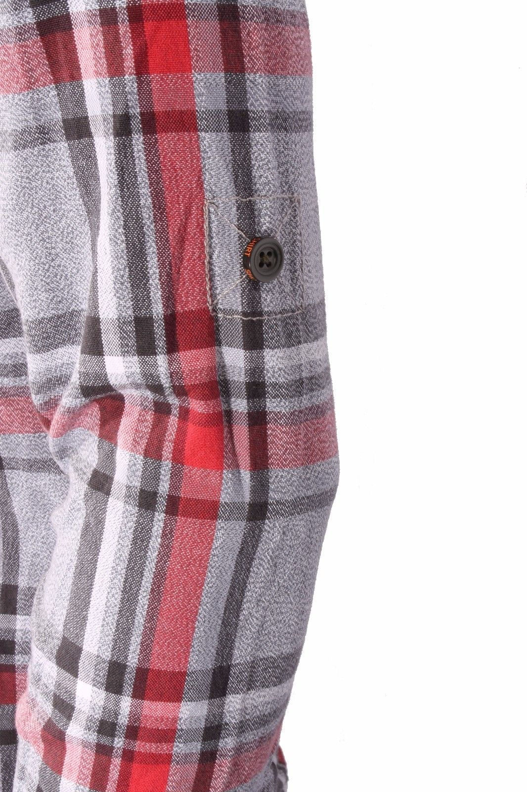 new concept 8bb50 4b043 Camicia quadri uomo SUPERDRY Grindlesawn Shirt Red Nickel Check (listino  90€)