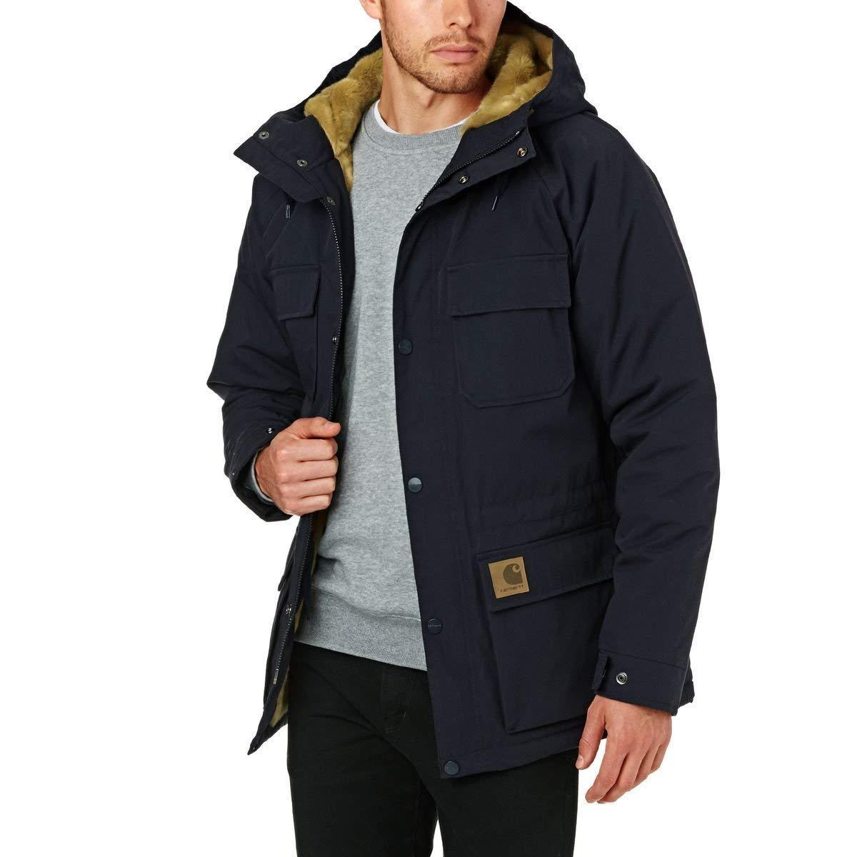 Carhartt 235 Uomo Parka Jacket Giacca I02187 Mentley Wip List 1UxvEHqwE